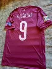 LATVIA NATIONAL TEAM,LEAGUE NATION,MATCH WORN FOOTBALL SHIRT, UEFA,FIFA, Andorra