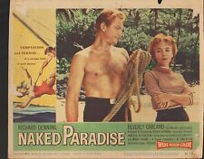 Naked Paradise 1957 11x14 Lobby Card #7
