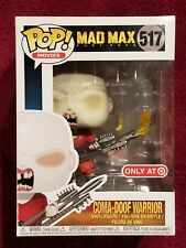 Funko Pop! #517 Mad Max Fury Road Coma-Doof Warrior Target Exclusive In Hand!