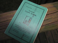 Pioneer Investors Savings and Loan Assoc Since 1885 Loan Pass Book San Jose CA