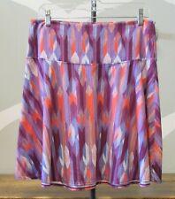 PRANA Women's Purple Patterned Skirt M