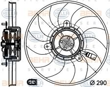 Mahle 8EW 351 040-081 FAN RADIATOR FITS VW GOLF V 2.0 GENUINE WHOLESALE PRICE