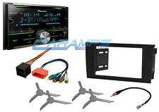NEW PIONEER DOUBLE 2 DIN CAR STEREO RADIO BLUETOOTH W/ INSTALL KIT FOR 00-03 A6
