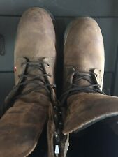Red Wing 4200 Leather Steel Toe Safety/Work/Shoes/Boots Men US Size:10 D Lo#EB43