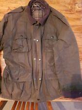 mens barbour wax jacket xl