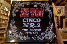 ZZ Top Cinco No. 2 The Second Five LPs 5xLP box set sealed 180 gm vinyl