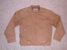 FLYING MACHINE FACTORY Brown Warm Airplane PILOT JACKET Bomber Coat Size Mens XL