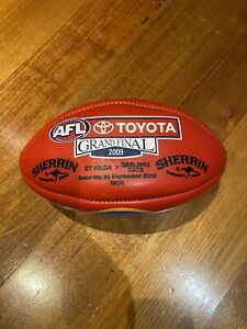 2009 AFL Grand Final Authentic Sherrin Football - Geelong Cats V St Kilda