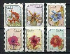 38775) Cu ba 1986 MNH** Exotic flowers in the Botanical Garden 6v