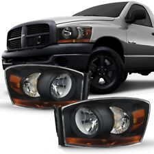 Klarglas Scheinwerfer black Dodge Ram 1500 Bj 2006-2008 Pickup SRT > LAGERWARE <