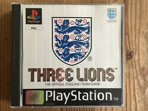 Three Lions PS1 - Very Good Cond & COMPLETE.