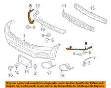 MITSUBISHI OEM 2006 Endeavor FRONT BUMPER-Reinforcement Bracket Right 6400B258