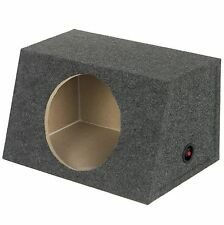 """New Qpower Heavy Duty Sealed Front-Angle Single 15"""" Subwoofer Enclosure Sub Box"""