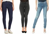 Levis 721 High Rise Skinny Jeans Womens Five Pocket Hi-Waist Soft Stretch Denim