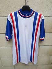 VINTAGE Maillot cycliste EQUIPE DE FRANCE TRICOTS DU ROCHER shirt jersey 80's 4
