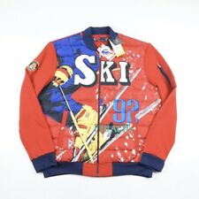 Ralph Lauren Polo USA Ski 92 Downhill Quilted Jacket - Red / UK L