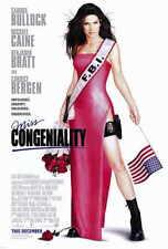 MISS CONGENIALITY Movie POSTER 27x40 Sandra Bullock Benjamin Bratt Michael Caine