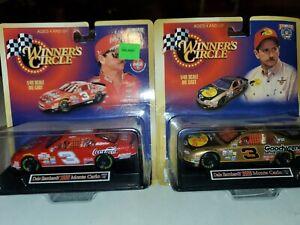 Set of 2 1998 Winners Circle 1/43rd Dale Earnhardt Sr Bass Pro Shops & Coca Cola
