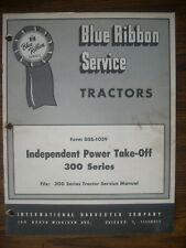 Ih Farmall Mccormick International 300 350 Pto Service Manual