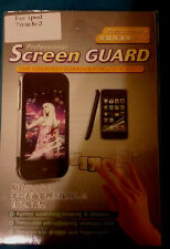 screen protector / guard for Ipod Touch - 2 new