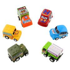 Lovely Classic 6pcs Set Truck Vehicle Mini Pull Back Car Kids Child Toy