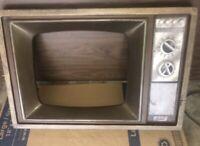 Vintage Television TV FRAMES mountable stage install