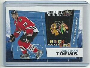 2008-09 JONATHAN TOEWS COLLECTOR'S CHOICE STICK-UMS #UMS-13