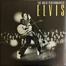 Elvis Presley - The Great Performances Vinyl LP RARE EX/MINT