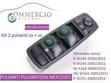 mercedes ML 320 CDI W164 KIT Pulsanti ALZACRISTALLI lato guida Kit 2 SX + SX