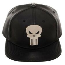 Punisher Suit up Marvel Comics PU Leather Snapback Hat