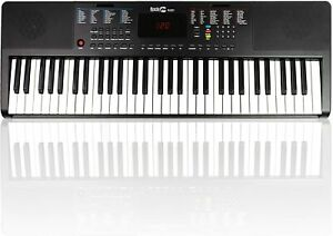 Keyboard RockJam RJ361 Elektro Klavier Piano Tasten Klaviernote Musikinstrument