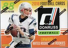 2018 Donruss Football NFL Trading Cards New 88ct. Retail Blaster Box