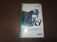 Adaptec 7800 Family Manager Set User's Guide With Floppy Disks for Win NT and 95