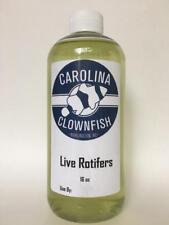 16 oz. Live Rotifers, Saltwater Coral Food, Clownfish Food