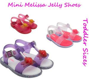 Mini Melissa Baby Girl Shoes MINI MAR SANDAL II Toddler Girl Lolipop Sandal NEW