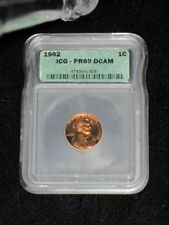 1962 Proof 69 Deep Mirror Cameo Certified Red Lincoln Memorial Cent