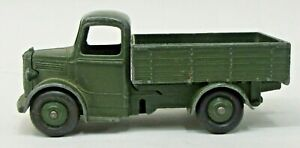 1950's Dinky military #25wm BEDFORD TRUCK Army 1/43 diecast Play Worn U.S. ISSUE