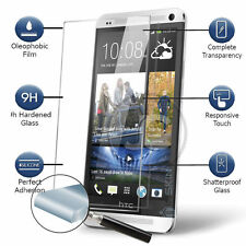 HTC ONE M9 Plus Quality Genuine 100% Tempered Glass Screen Protector Bundled