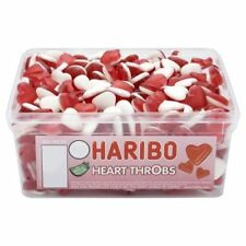 Haribo Heart Throbs Tub 300 Sweets - Perfect Party bag filler wedding favour