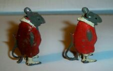 Britains Cococubs Pre-war lead figure of animals this one is Will Mouse x 2