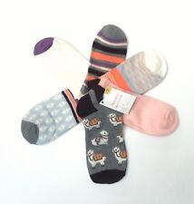 NWT Womens LLAMA Print Socks Set of 6 Low CUT Socks Llama & Patterned Set