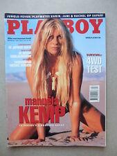 PLAYBOY (NL)   4 - 2000  PLAYMATE MANUELA KEMP + Cover