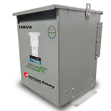 15 kVA 240D/380Y Volt Primary to 380Y/240D Volt Secondary 3 Phase Transformer