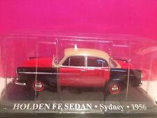 SUPERBE TAXI HOLDEN FE SEDAN SYDNEY 1956 NEUF SOUS BLISTE 1/43 B6