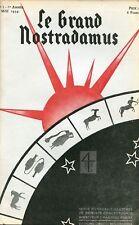 Revue Le Grand Nostramus  Astrologie Prévision Privat Kraft… 10 premiers numéros