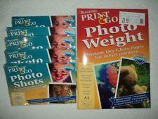IMAGEPRO PRINT & GO GLOSS PHOTO INKJET PRINTING PAPER CARD BUNDLE