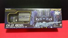 Transformers Fansproject Causality CA-13 Diesel & Military Mutiplexer M3 KIT MIB