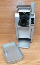Genuine Keurig (K10) Gray & Silver Mini Personal Coffee Maker W/ No Drip Tray