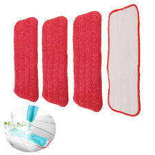 Microfiber Pads Spray Water Spraying Flat Dust Mop Floor Cleaning Replacements