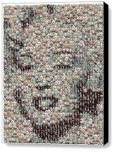 Framed Marilyn Monroe Bubble incredible Mosaic Limited Edition Art Print COA